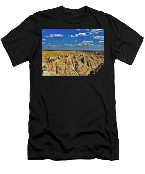 Badlands To Plains Men's T-Shirt (Athletic Fit)