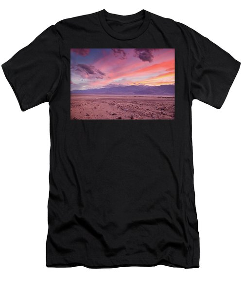 Badwater Sunset Men's T-Shirt (Athletic Fit)