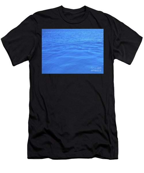 Men's T-Shirt (Athletic Fit) featuring the photograph Bahama Blue by Barbara Von Pagel
