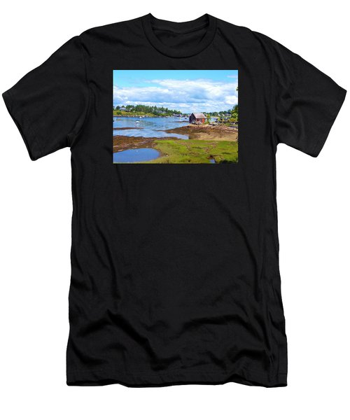 Bailey Island Lobster Shack Men's T-Shirt (Athletic Fit)