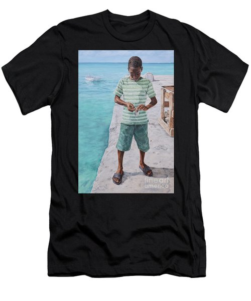 Baiting Up Men's T-Shirt (Athletic Fit)