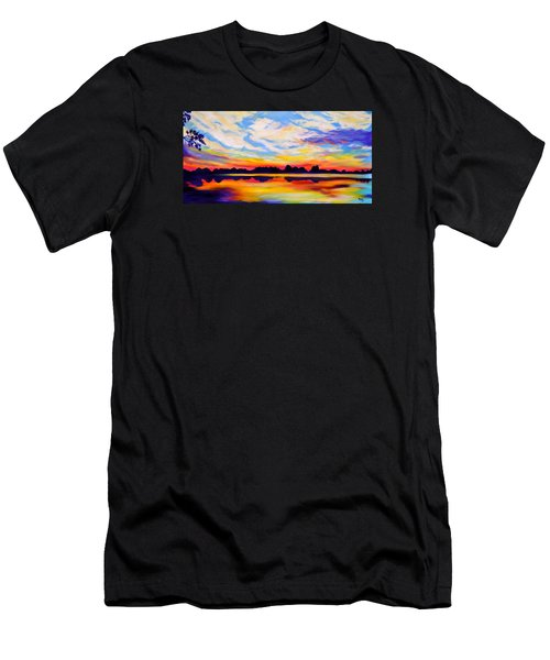 Baker's Sunset Men's T-Shirt (Athletic Fit)