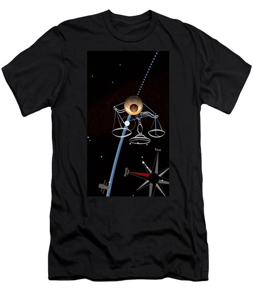 Men's T-Shirt (Athletic Fit) featuring the photograph Balance Constellation - Live Capture by Tatiana Travelways