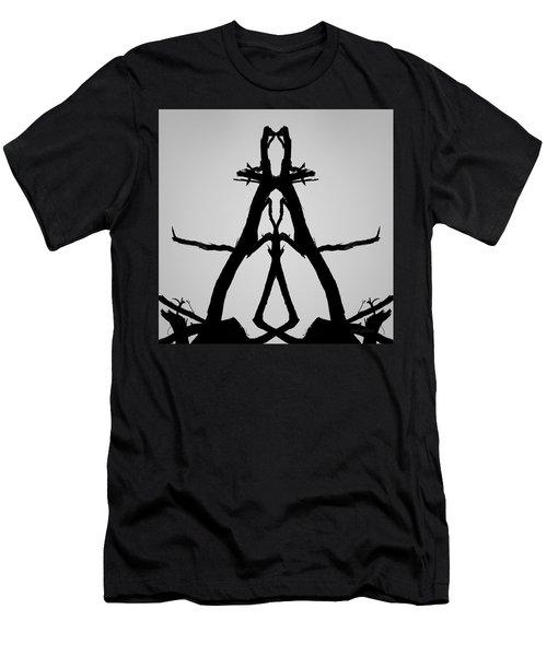 Balanced I Bw Men's T-Shirt (Athletic Fit)