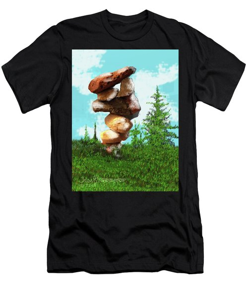 Balanced Rocks #8 Men's T-Shirt (Athletic Fit)