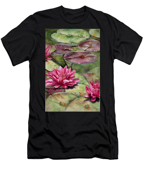 Balboa Water Lilies Men's T-Shirt (Athletic Fit)