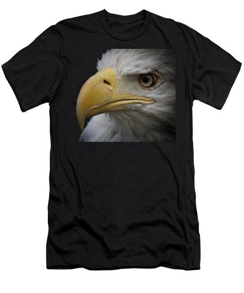 Men's T-Shirt (Slim Fit) featuring the photograph Bald Eagle 2 by Ernie Echols