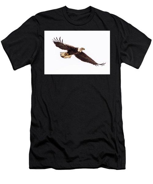 Bald Eagle 2 Men's T-Shirt (Athletic Fit)