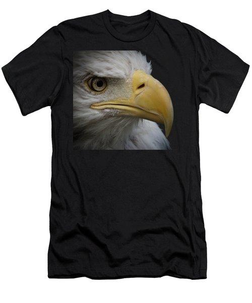 Men's T-Shirt (Slim Fit) featuring the photograph Bald Eagle 3 by Ernie Echols