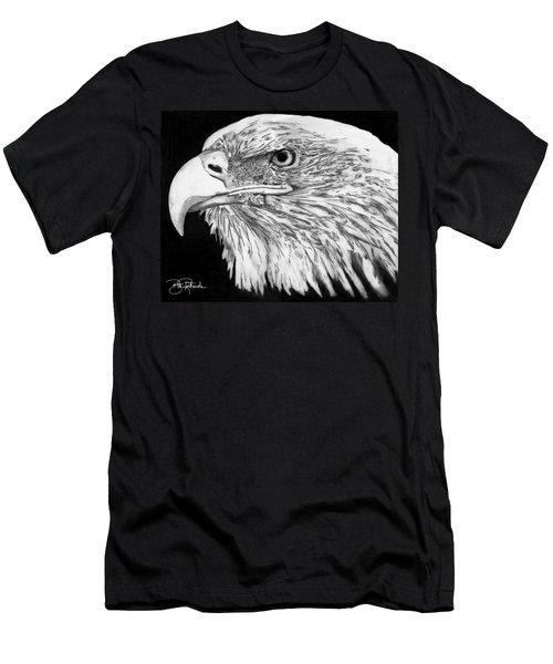 Bald Eagle #4 Men's T-Shirt (Athletic Fit)
