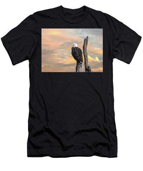 Bald Eagle Inspiration Men's T-Shirt (Athletic Fit)