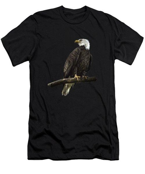 Bald Eagle Transparency Men's T-Shirt (Athletic Fit)