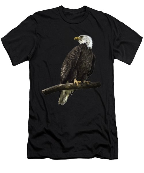 Bald Eagle Transparency Men's T-Shirt (Athletic Fit)