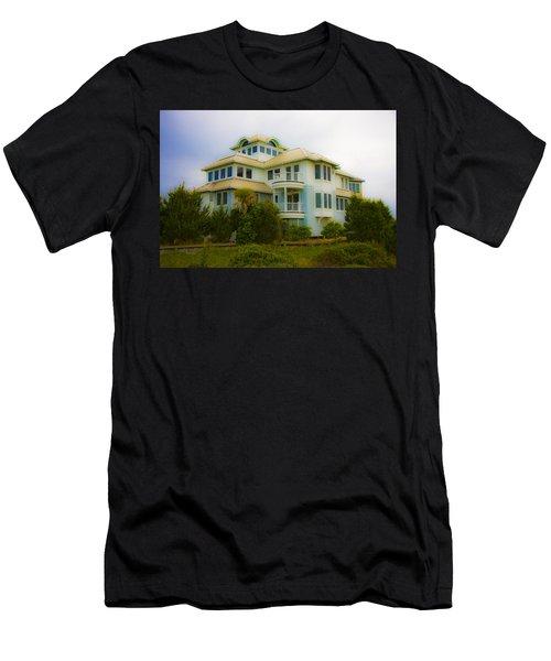 Seaside Getaway  Men's T-Shirt (Athletic Fit)