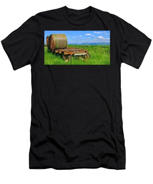 Bales At Rest Men's T-Shirt (Athletic Fit)