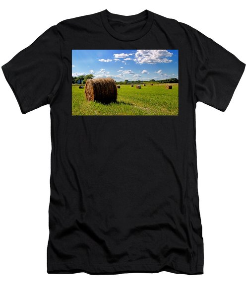 Bales Of Clouds Men's T-Shirt (Athletic Fit)