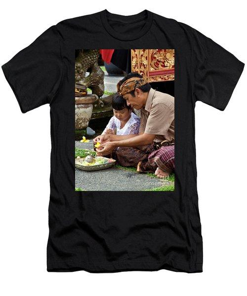 Bali_d796 Men's T-Shirt (Athletic Fit)