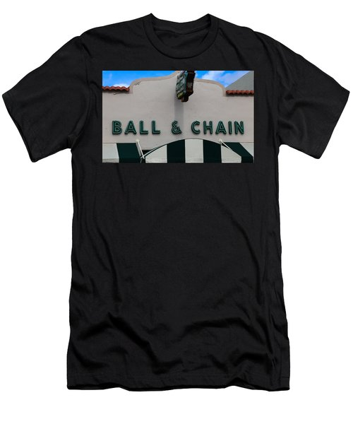 Ball And Chain Men's T-Shirt (Athletic Fit)