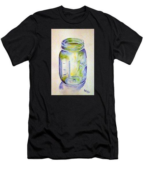 Ball Mason Jar Men's T-Shirt (Athletic Fit)