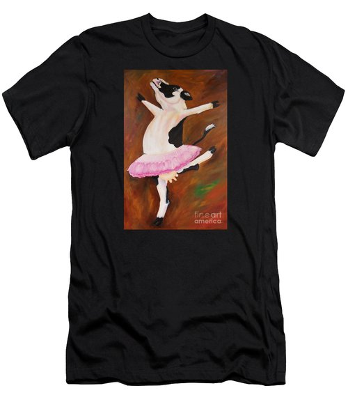 Ballerina Cow Men's T-Shirt (Athletic Fit)