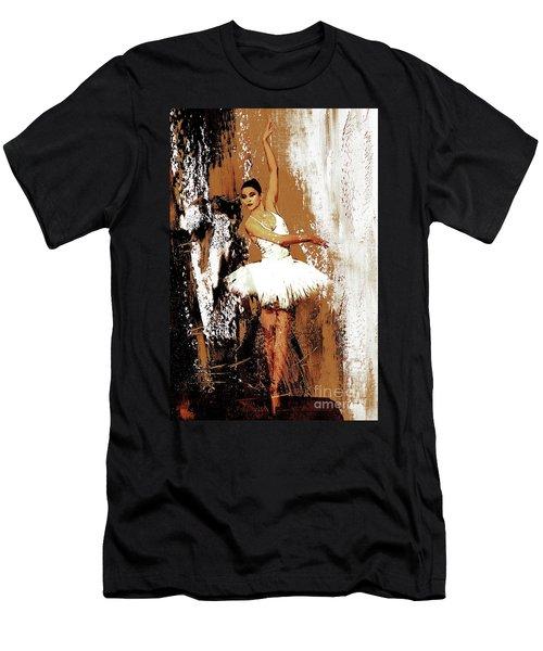 Ballerina Dance 093 Men's T-Shirt (Slim Fit) by Gull G