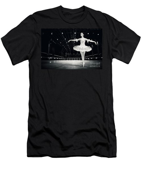 Men's T-Shirt (Athletic Fit) featuring the photograph Ballerina by Dimitar Hristov