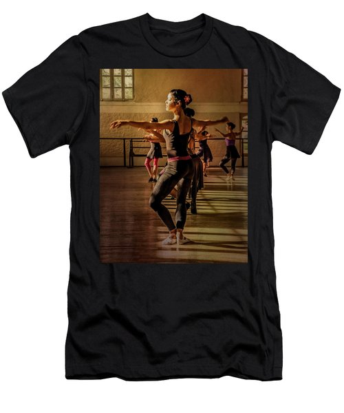 Men's T-Shirt (Athletic Fit) featuring the photograph Ballerina by Lou Novick