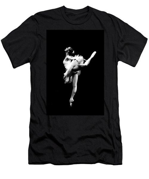 Ballet Dance Men's T-Shirt (Slim Fit) by Sumit Mehndiratta