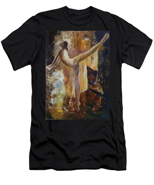 Ballet Dancer Men's T-Shirt (Athletic Fit)