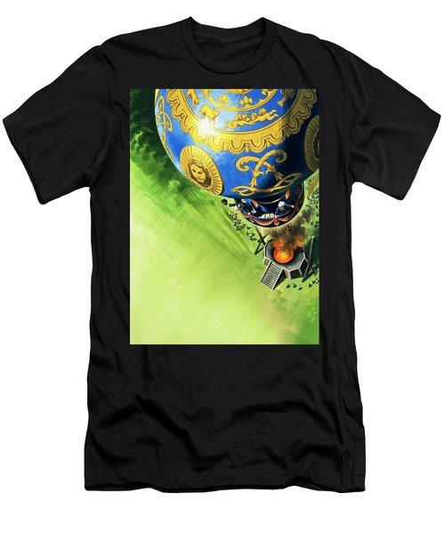 Balloon Ascent  Men's T-Shirt (Athletic Fit)