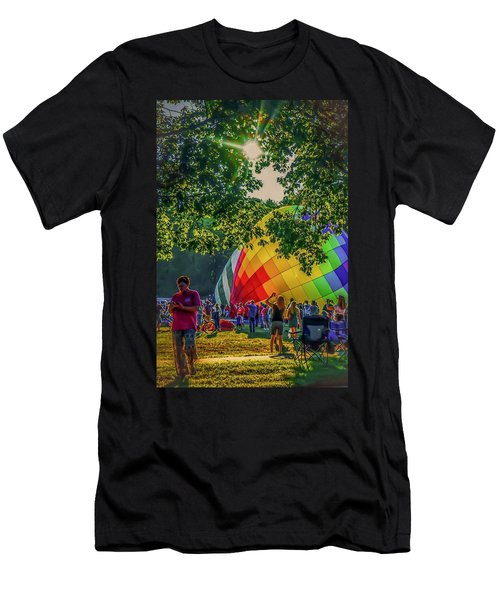 Balloon Fest Spirit Men's T-Shirt (Athletic Fit)