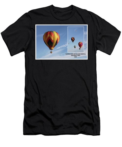 Balloon Festival Indianola, Iowa Men's T-Shirt (Athletic Fit)