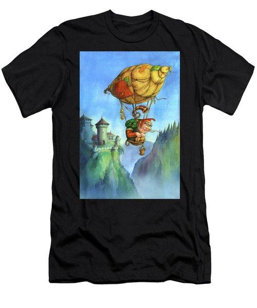 Balloon Ogre Men's T-Shirt (Athletic Fit)