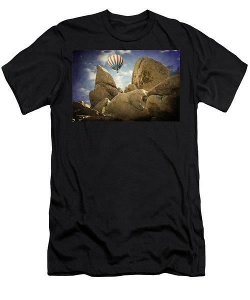 Ballooning In Joshua Tree Men's T-Shirt (Athletic Fit)