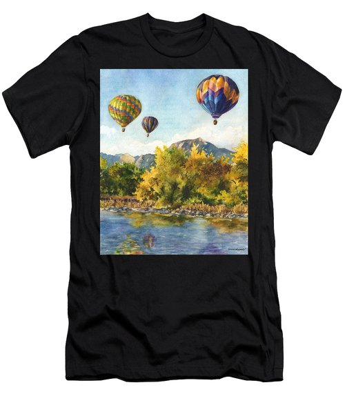 Balloons At Twin Lakes Men's T-Shirt (Athletic Fit)