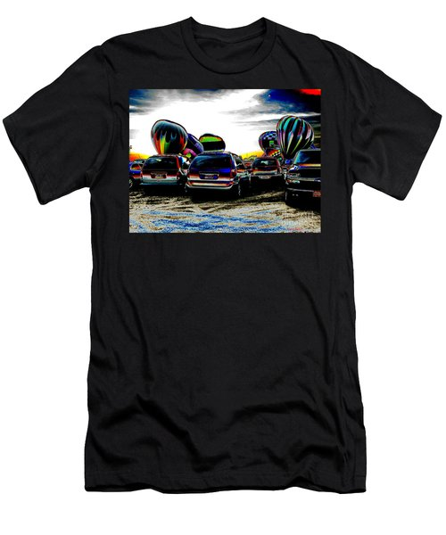 Men's T-Shirt (Slim Fit) featuring the photograph Balloons by Greg Patzer