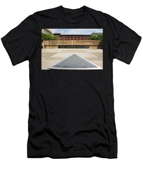 Baltimore Holocaust Memorial Men's T-Shirt (Athletic Fit)