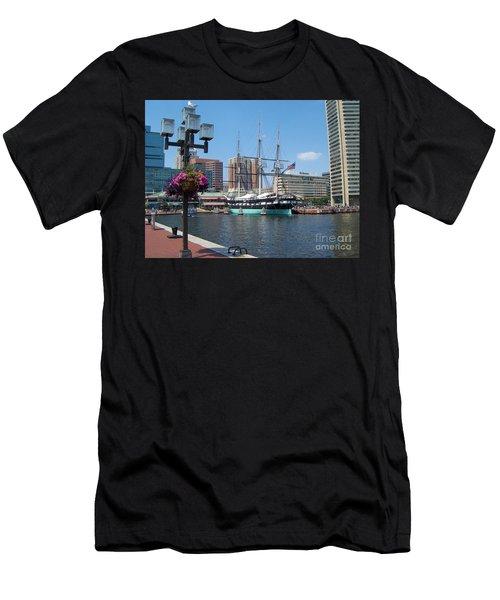 Baltimore Inner Harbor Men's T-Shirt (Athletic Fit)