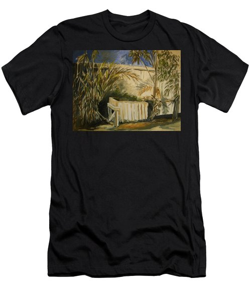 Bamboo And Herb Garden Men's T-Shirt (Athletic Fit)