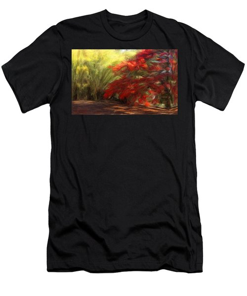 Bamboo And The Flamboyant Men's T-Shirt (Athletic Fit)