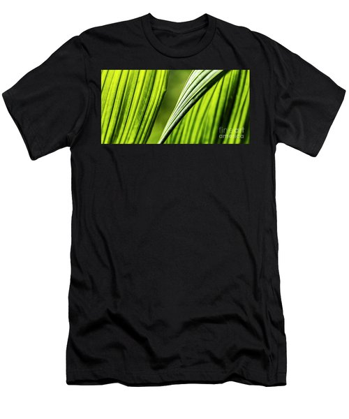 Men's T-Shirt (Athletic Fit) featuring the photograph Banana Leaves Iv by Brad Allen Fine Art