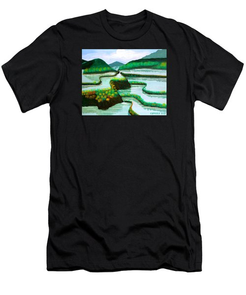 Banaue Men's T-Shirt (Slim Fit) by Cyril Maza