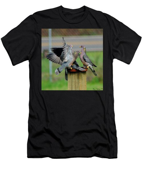 Band-tailed Pigeons #1 Men's T-Shirt (Athletic Fit)