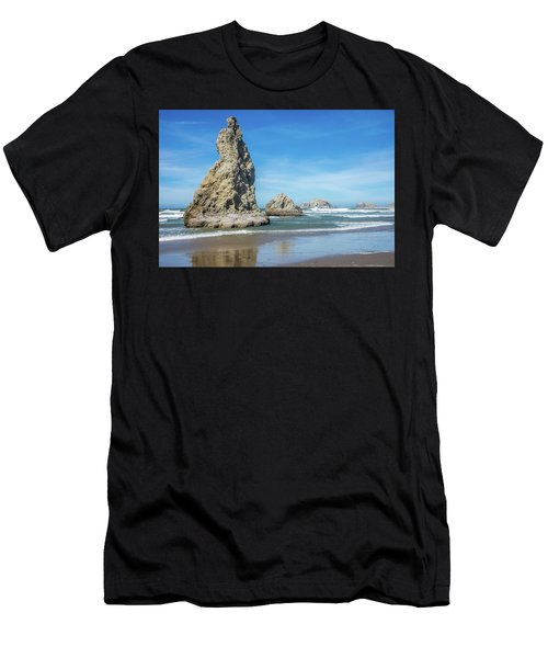 Bandon Rocks Men's T-Shirt (Athletic Fit)