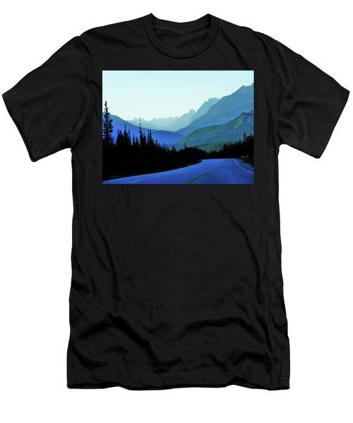 Banff Jasper Blue Men's T-Shirt (Athletic Fit)
