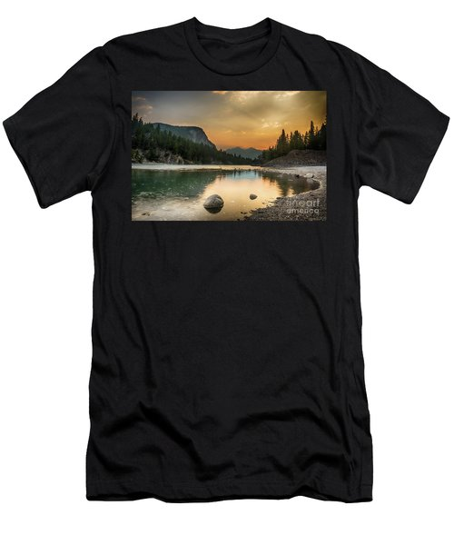 Banff Sunrise Men's T-Shirt (Athletic Fit)