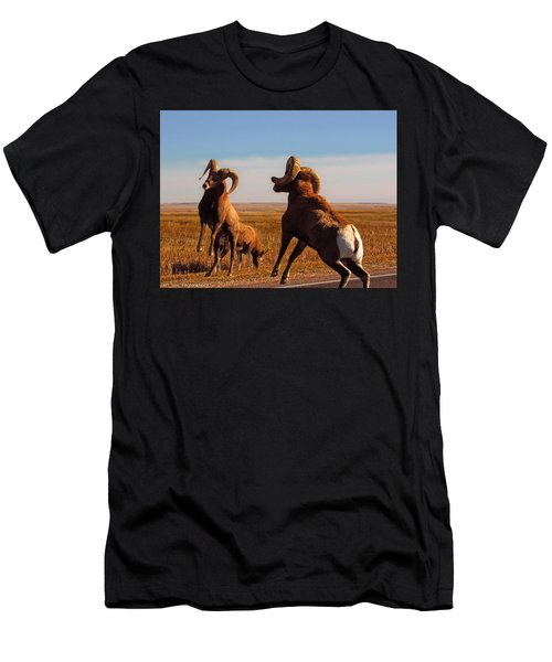 Bang Of The Bighorn Men's T-Shirt (Athletic Fit)