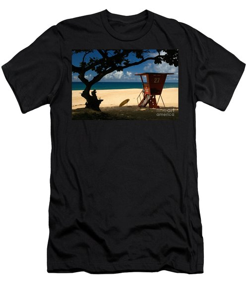Banzai Beach Men's T-Shirt (Athletic Fit)