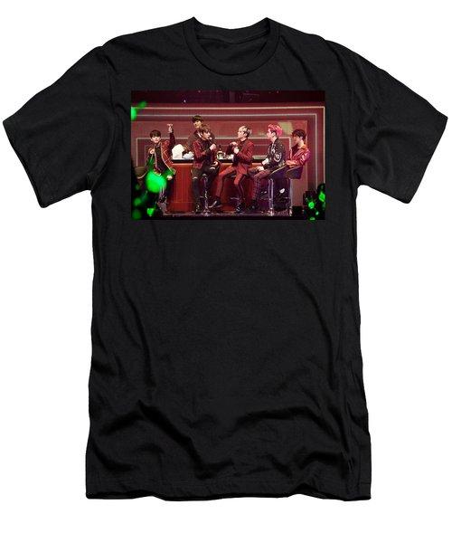 B.a.p Men's T-Shirt (Athletic Fit)