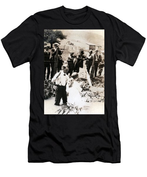 Baptism Men's T-Shirt (Athletic Fit)